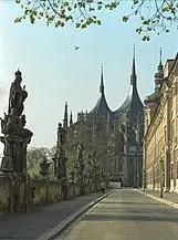 St. Barbara street along Jesuit College