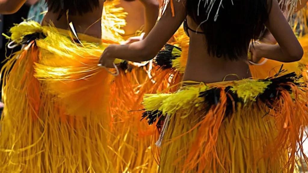 The hula in Hawaii