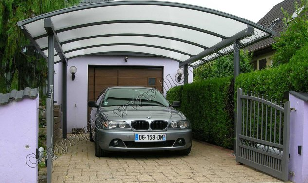 carport alu florival abri voiture en aluminium jlc varianse. Black Bedroom Furniture Sets. Home Design Ideas