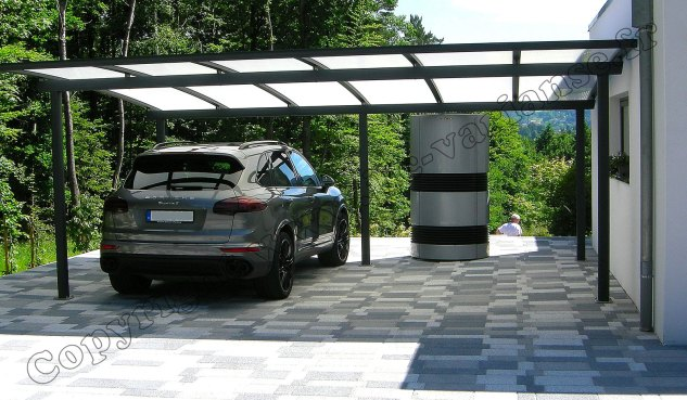 carport aluminium appenthal abri pour voiture jlc varianse. Black Bedroom Furniture Sets. Home Design Ideas
