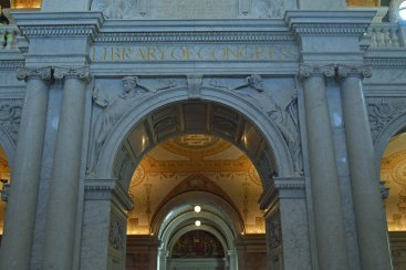 The Library of Congress- a truly stunning building!