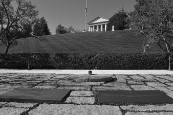 The tomb of JFK