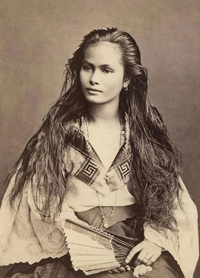 Woman beautiful native american