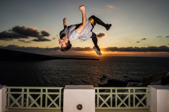 Jason kicking the sunset © Predrag Vuckovic