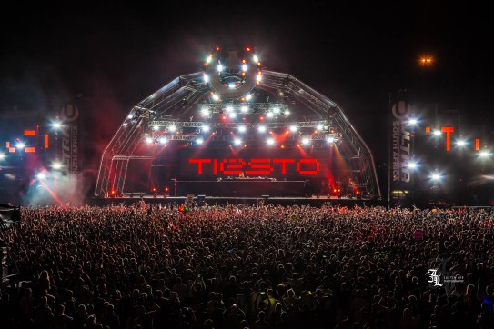 The Legendary Tiesto headlines Ultra SA, Johannesburg at NASREC Showgrounds.