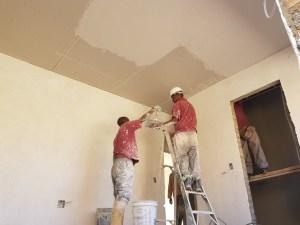 Flush Plastered ceilings j le Roux