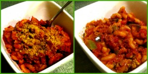 Seitan & Macaroni Goulash Collage 500w