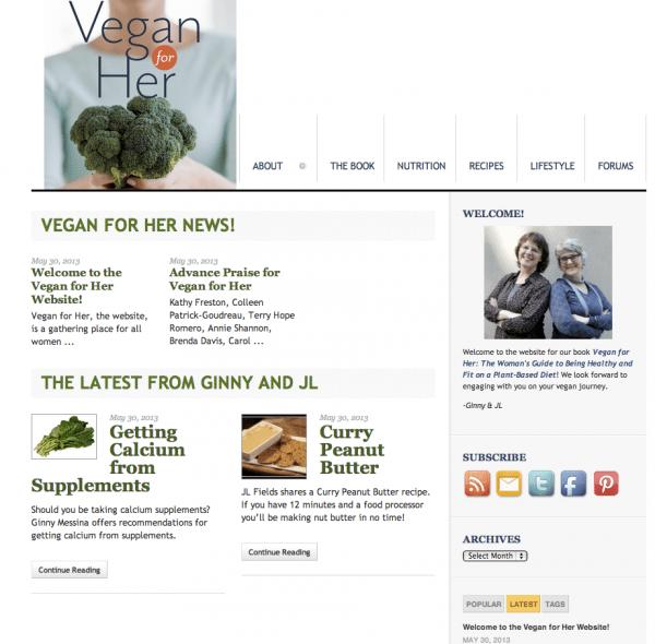 VeganForHer.com