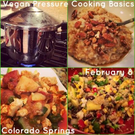 Vegan Pressure Cooking Basics class in Colorado Springs