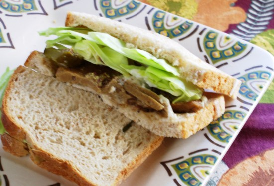 Vegan Corned Beef Sandwich | JLgoesVegan.com