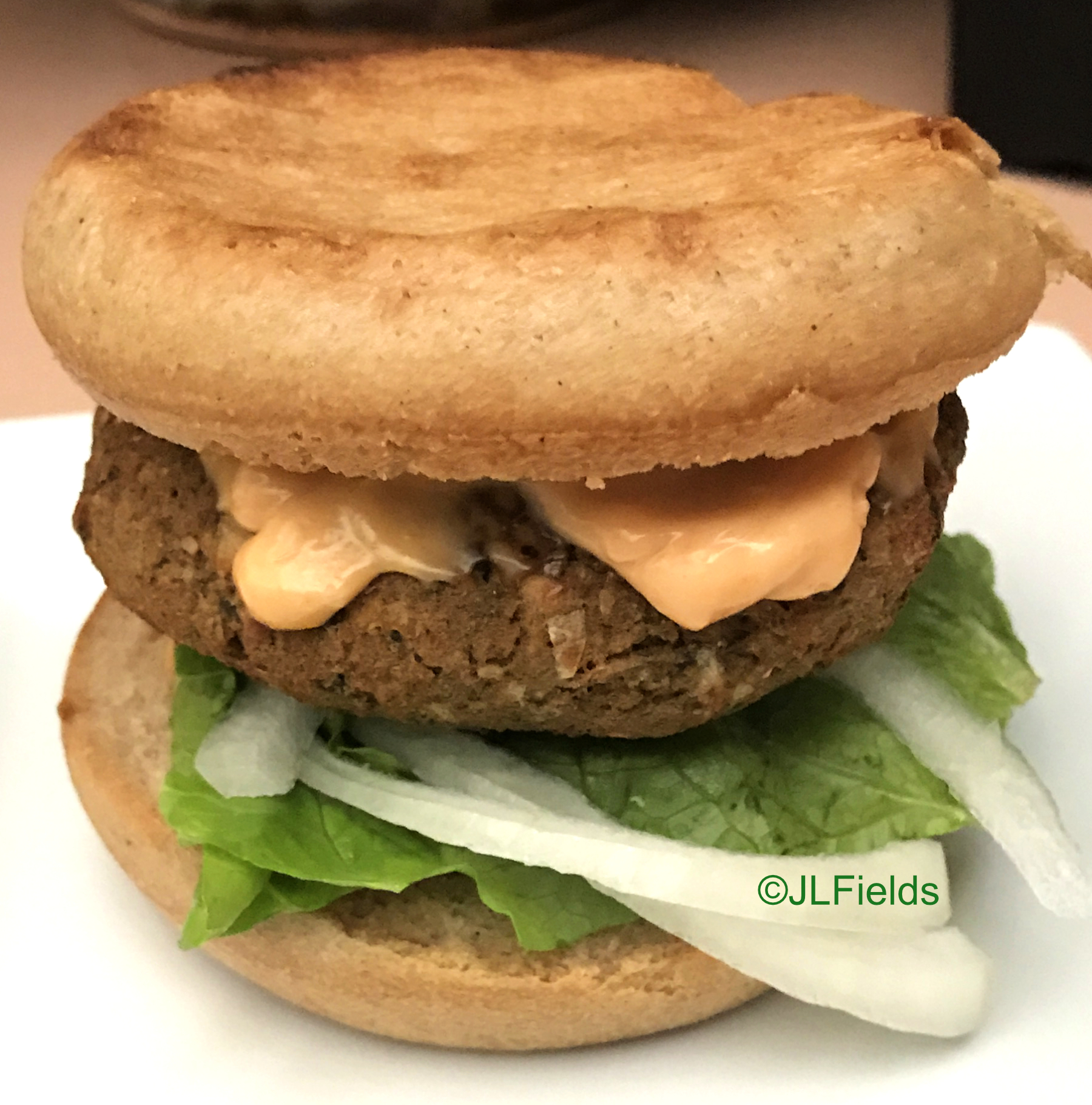 fried lentil burger pressure cooker air fryer recipe