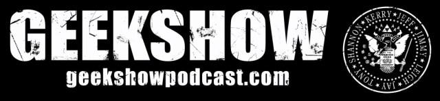 geekshow podcast banner
