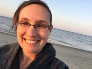 Broadkill beach selfie