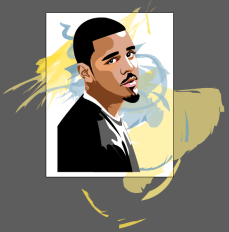 An Illustration accomplished by Adobe Illustrator, meant for T-Shirts.