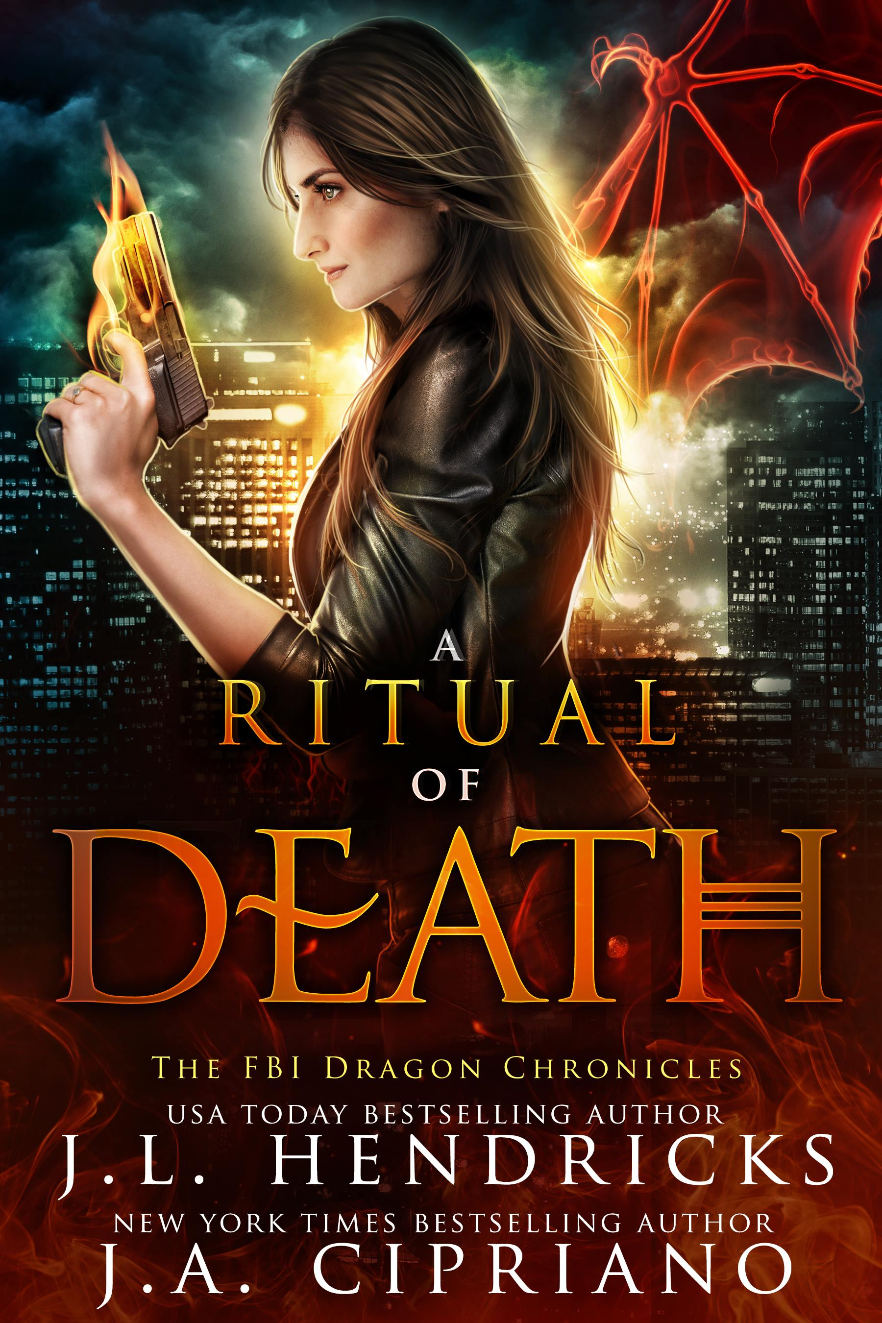 FBI Dragon Chronicles Book 2: A Ritual of Death