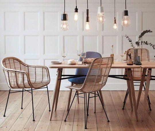 Woontrend rotan tuinstoelen hip voor buiten n binnen for Trendy stoelen