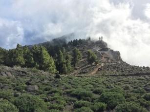 ~ clouds blanketing the caldera ~