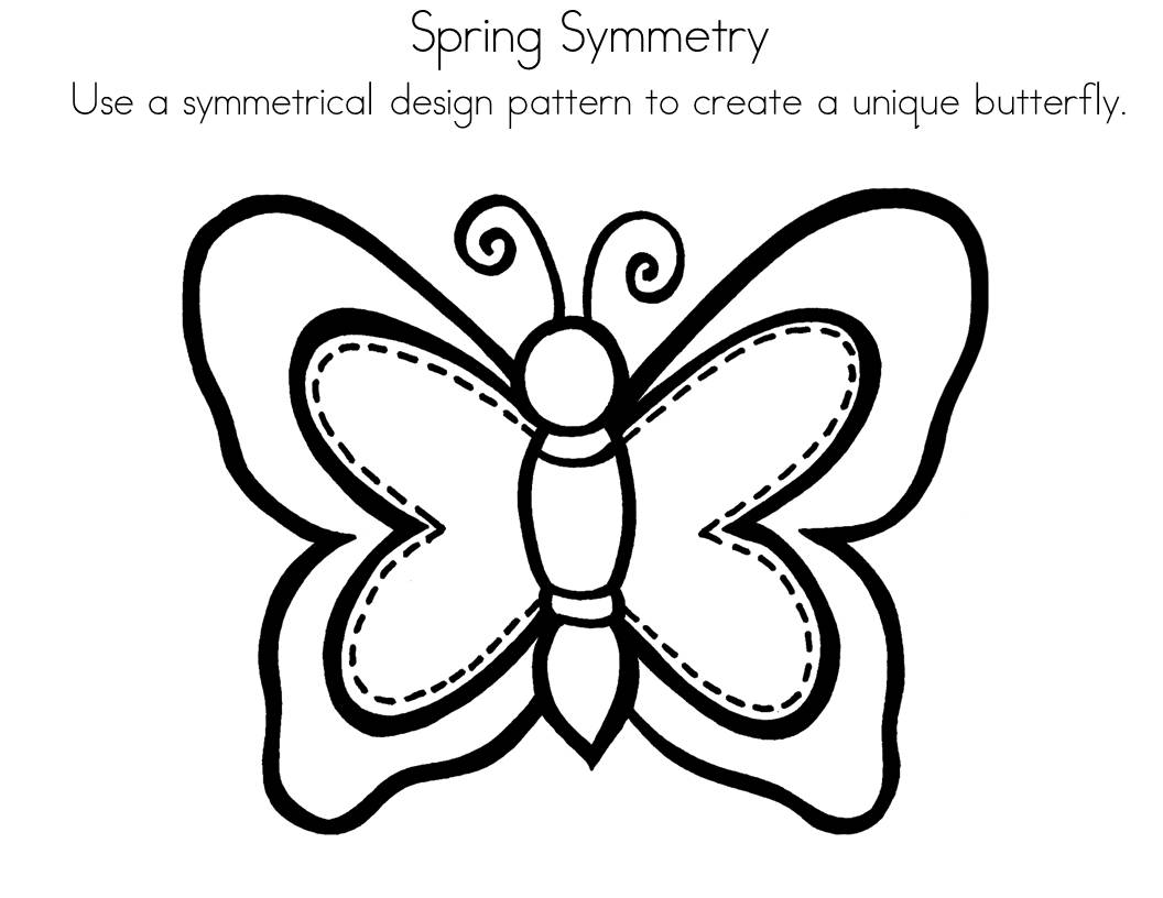 Symmetry Clipart Black And White