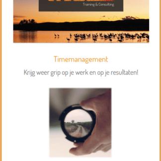 Cover e-book Timemanagement met rand