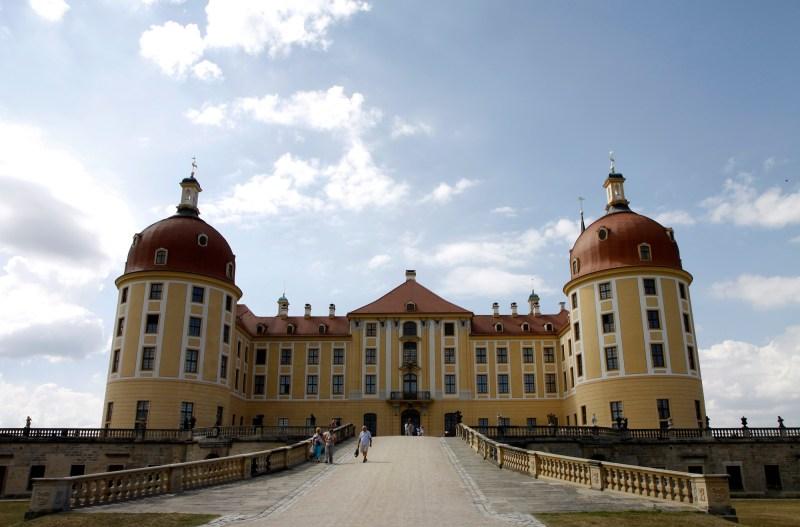 Het kasteel heeft een sprookjesachtige uitstraling.