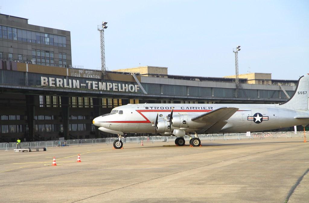 Het oude vliegveld Tempelhof
