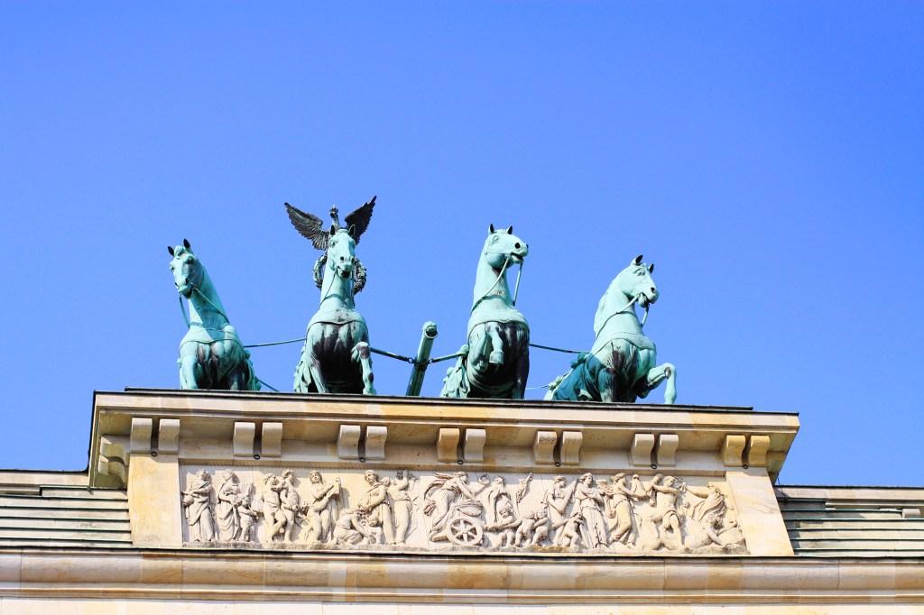 Detail van de Brandenburger Tor