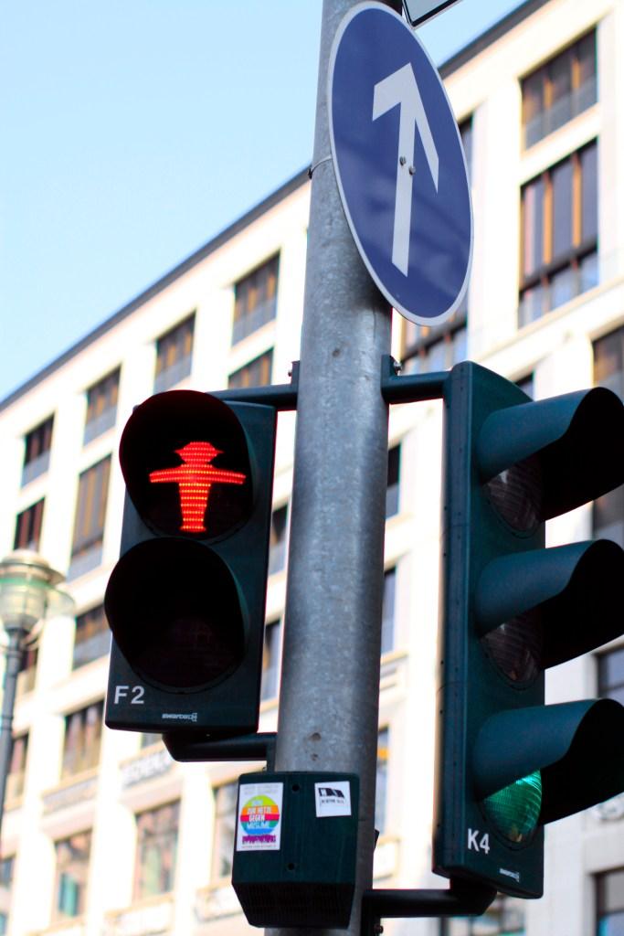De rode Ampelmann