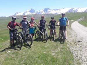 Mountainbiken in de Oisans