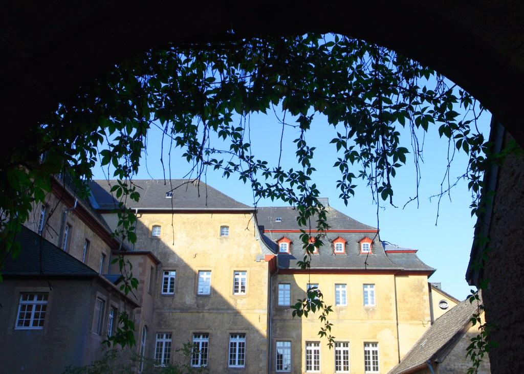 De achterzijde van Kloster Steinfeld