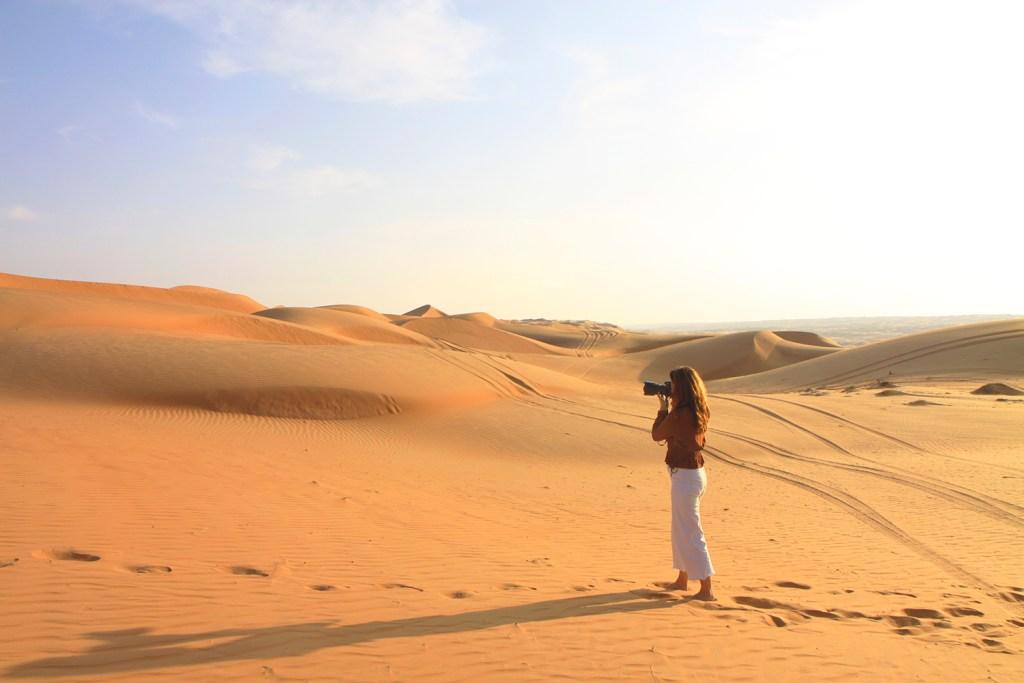 Oman - in de woestijn