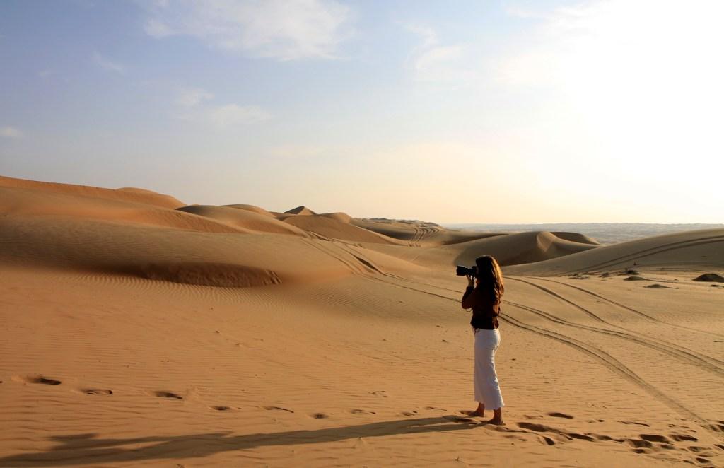 Sabrina in de woestijn