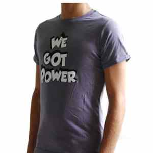 TEE SHIRT HOMME WE GOT THE POWER