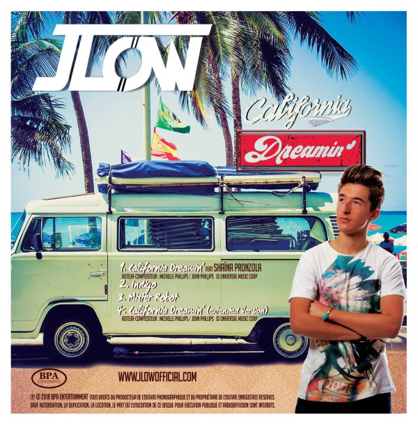 "cover back ""California Dreamin'"" JLOW"