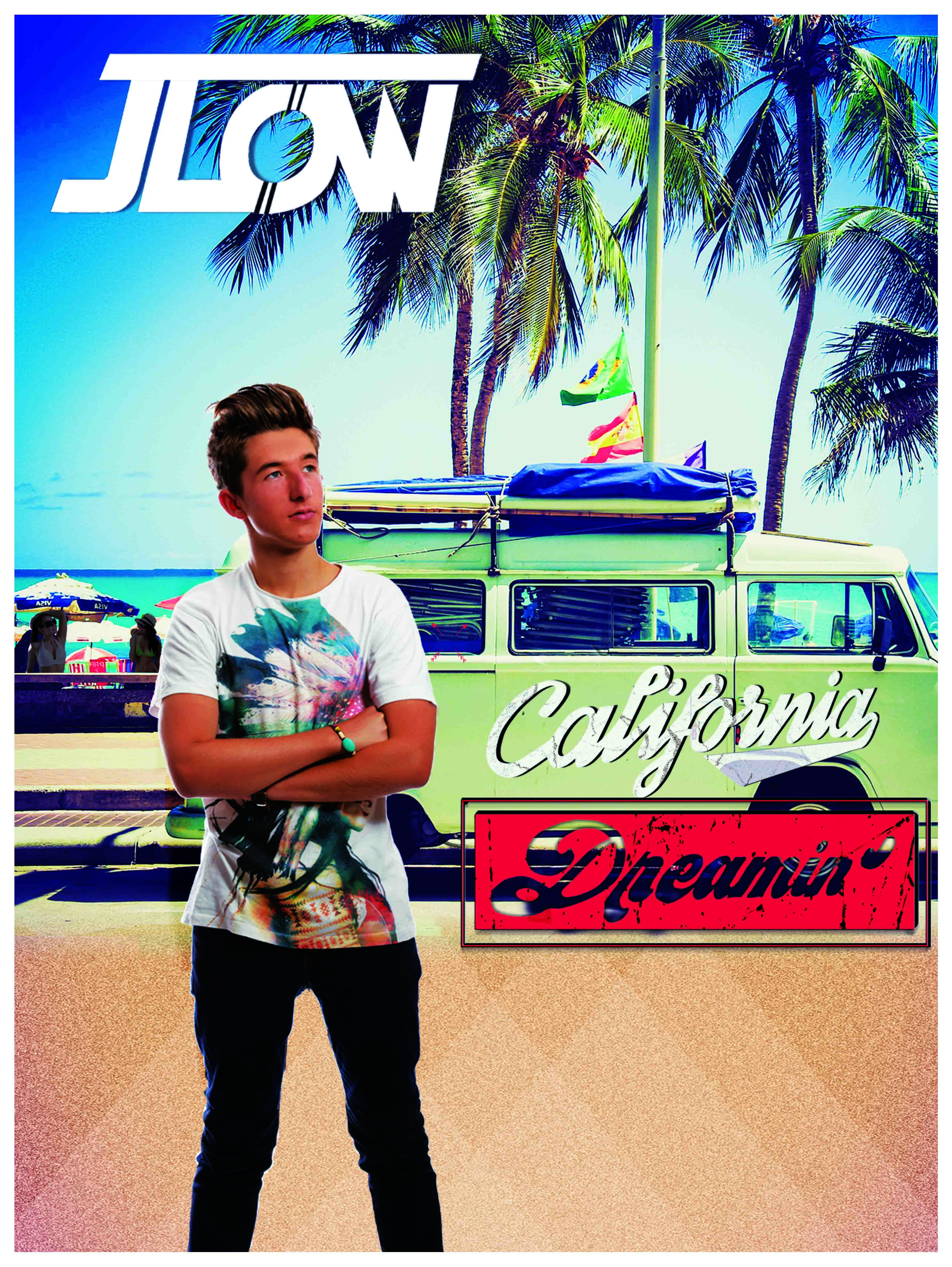 "poster jlow ""California Dreamin'"""