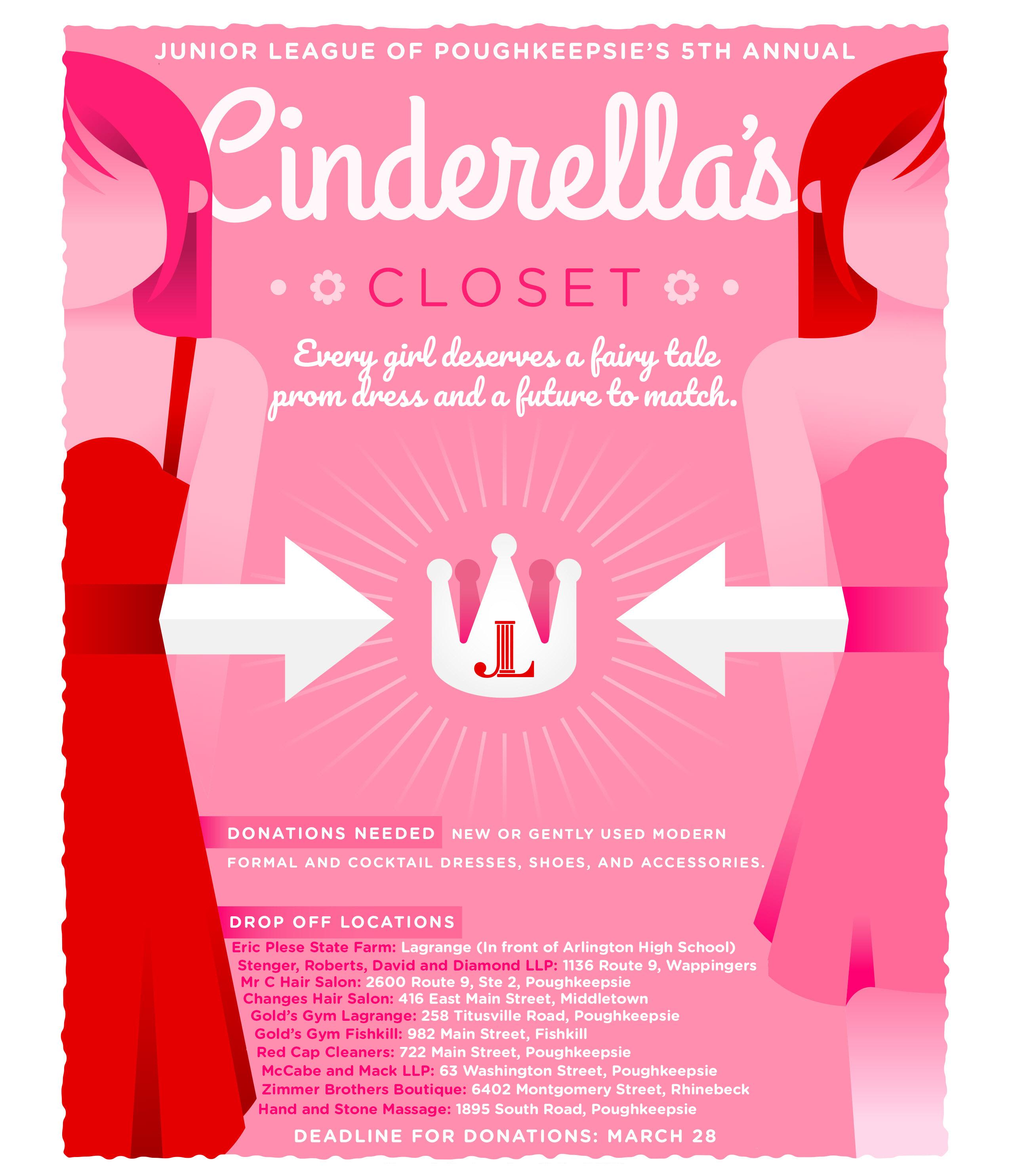 Cinderella S Closet Junior League Of Poughkeepsie Junior