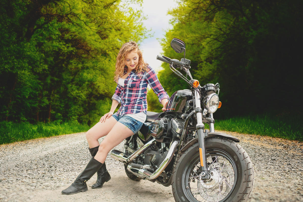 Wisconsin Harley Glamour Sessions