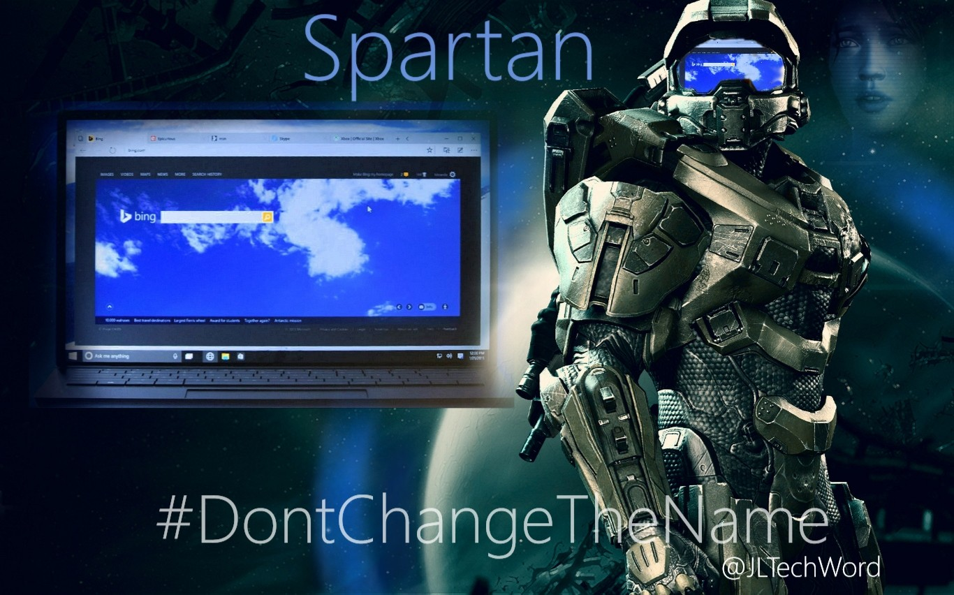 """We Are Sp…, I mean We WANT SPARTAN!"" #DontChangeTheName"