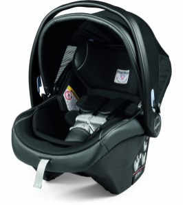 Peg Perego Primo Viaggio 4-35 - Black Leather Trim