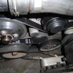 BMW325i ファンベルトテンショナー・プーリー交換(DIY)