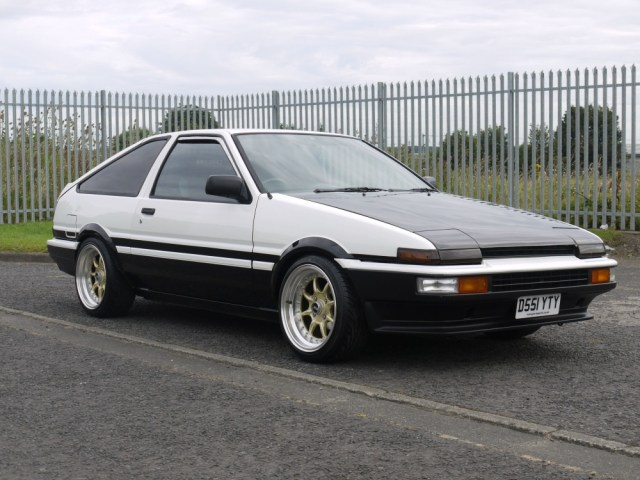 1987 Toyota AE86 Sprinter 5 Speed Manual