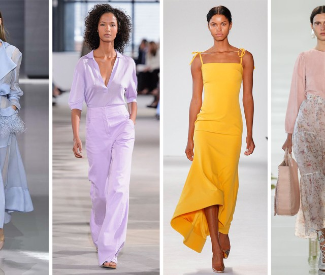 Best Spring Fashion Trends 2018 Color Trends