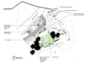 site plan and building orientation