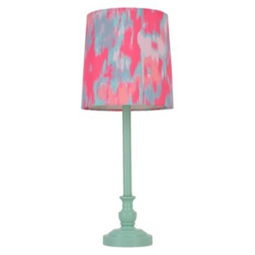 Target- Xhilaration® Stick Lamp in Teal Watercolor
