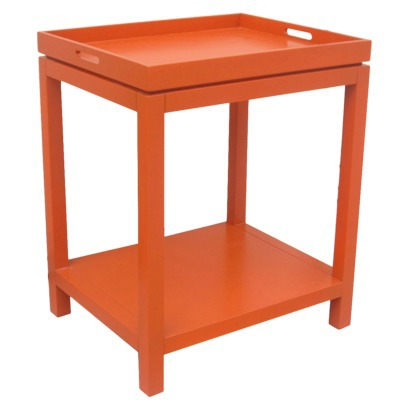 Threshold™ Tray Top Side Table - Orange