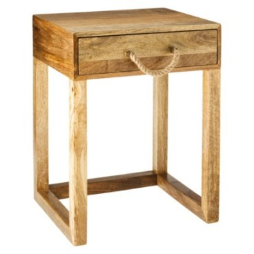 Target- Threshold™ Accent Table With Rope Handle - Natural