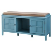 Threshold™ Windham Entryway Bench in Teal, $135.99 (save 20%)