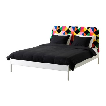 DUKEN Bed frame, multicolor, $199.00, Article Number: 690.237.92