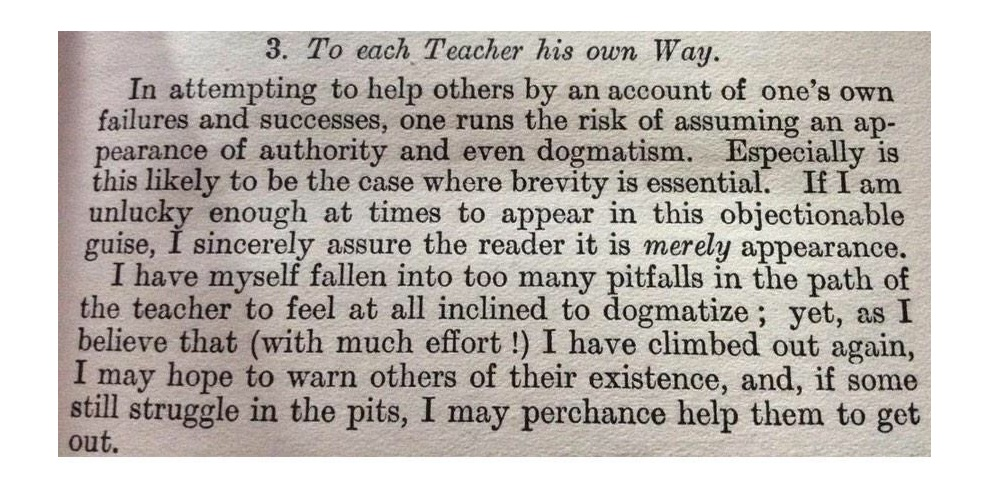 """""""Mathematical Education"""", Benchara Branford, first published in 1908."""