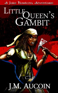 Little Queen's Gambit blood splatter cover