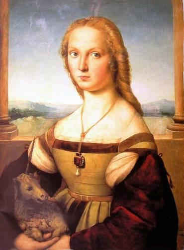 Lady with the unicorn (Raphael, 1506)